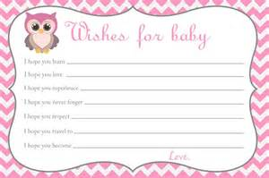 baby shower messages baby shower wishes for baby card owl baby shower