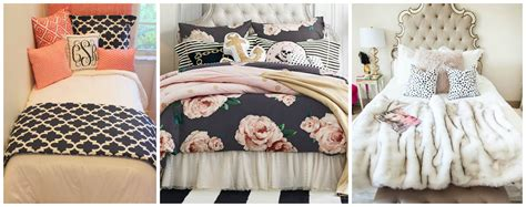 bedding blog cute dorm room bedding