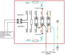 240v single phase motor wiring diagram elec eng world