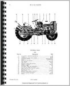 massey ferguson 35 tractor parts manual
