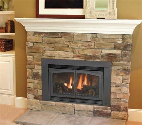Gas Log Insert For Existing Fireplace by 25 Best Ideas About Gas Fireplace Inserts On