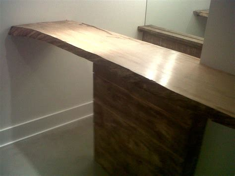 Maple Bar Top by Live Edge Slab Benches Cubes And Bar Tops Firewood
