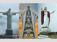 16 of the Tallest Statues of Our Lord Jesus from Around ... Inside Church Of Satan