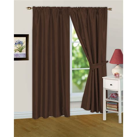 lined window curtains faux silk ready made fully lined modern window curtains