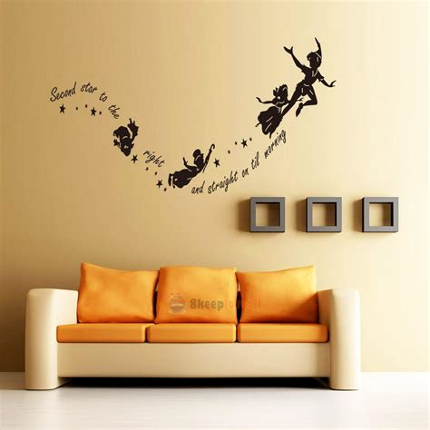 tinkerbell home decor tinkerbell star peter pan wall decal kids room nursery