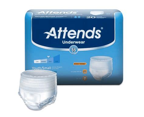 attends underwear super  absorbency attends