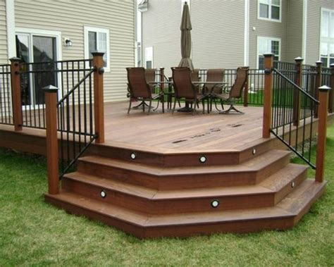 deck stairs ideas angled deck stairs houzz