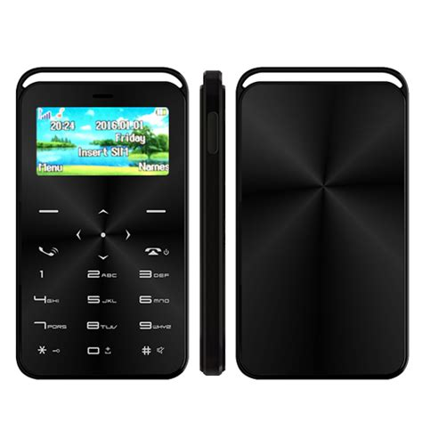 mobile phone small small size card mobile phone gs6 support magic voice and
