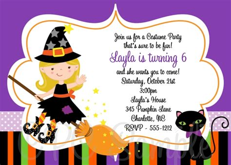 design halloween party invitation card top 13 halloween birthday party invitations that maybe you