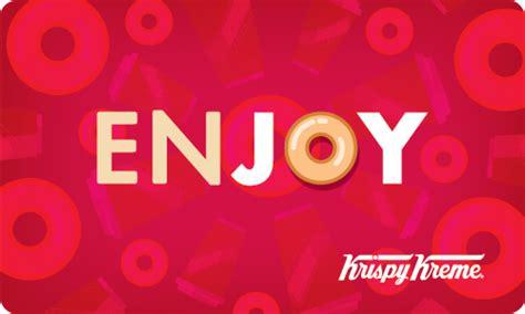 Krispy Kreme Gift Card Balance - krispy kreme giftcards
