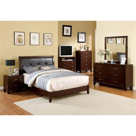 4 piece bedroom furniture sets furniture of america jeinske 4 piece california king