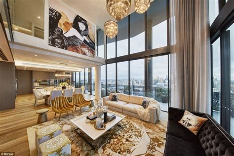 australian developers mirvac styled  docklands apartment