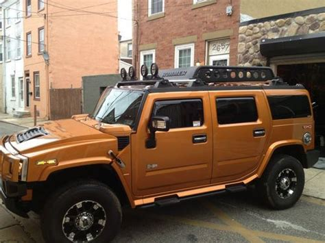 books on how cars work 2006 hummer h2 spare parts catalogs find used 2006 hummer h2 4wd 4x4 low miles limited edition fusion orange in philadelphia