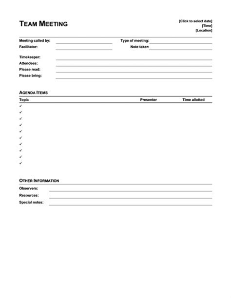 informal meeting minutes template sample minute templates formal