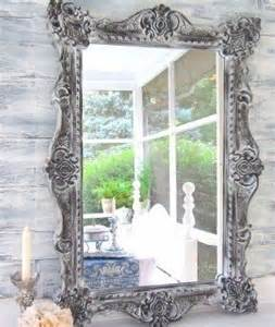 Distressed Farmhouse Floor Mirror For Sale - large wall mirrors foter