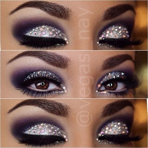 Glitter Makeup 10 ways to apply glitter eye makeup be modish