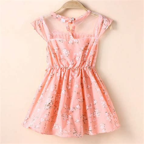 Princess Tunik Pink Is T1310 מוצר baby lace floral tunic princess dress