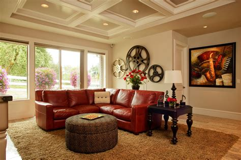 red home decor ideas awe inspiring red sofa decorating ideas