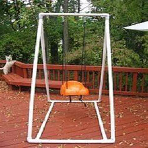 pvc porch swing 20 easy pvc pipe projects for kids summer fun amazing