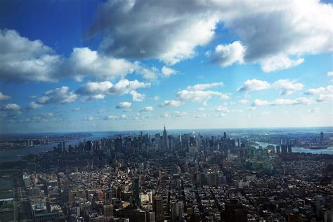 One S View Of The World the view from the top of one world trade center is really quite citymetric