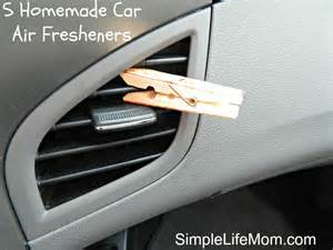 Auto Car Air Freshener 5 Car Air Fresheners Simple Momsimple