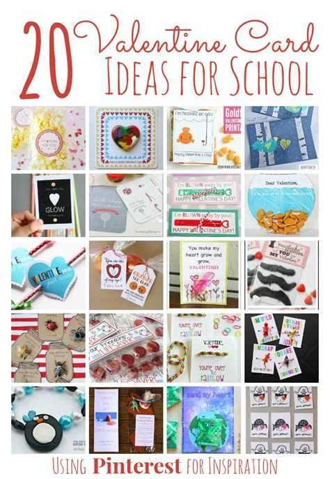 school card ideas 20 adorable valentines for classmates the