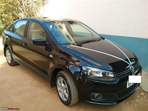 volkswagen vento black my black vw vento tsi edit 30 000 km update team bhp