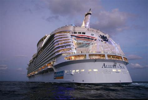 royal caribbean largest ship the world s largest cruise ship allure of the seas