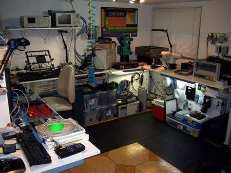 How To Setup A Home Office In A Small Space by 42 Best Images About Electronics Workbench On Pinterest