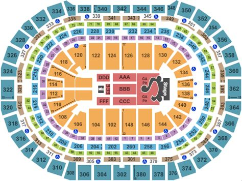pepsi center seating view selena gomez denver tickets live in july 2016