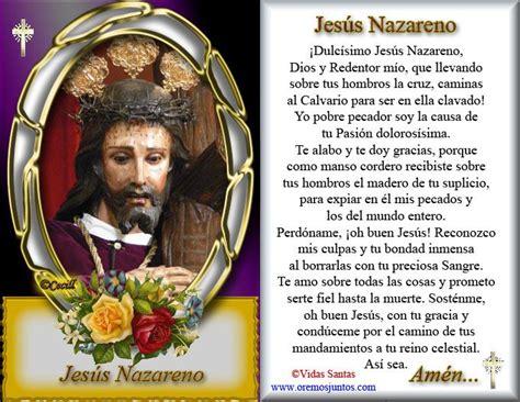 imagenes de jesus nazareno im 225 genes de cecill estita y oraci 243 n a jes 250 s nazareno