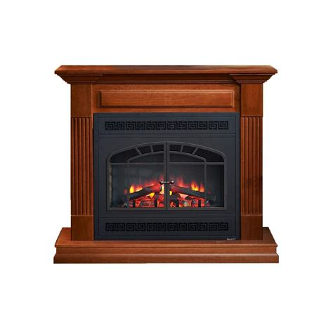 arched fireplace mantels greatco grande series mantel with 41 in electric fireplace and arched recta ebay