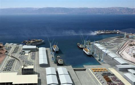 aqaba port arcadis engaged on aqaba new port project