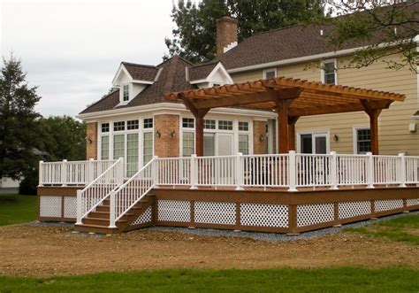 Garden Pergolas Wood Pergolas Forever Redwood Decks Decks With Pergolas