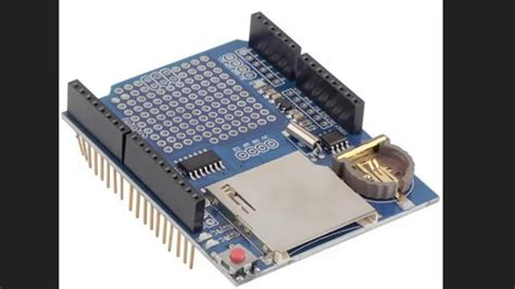 Data Logger Shield For Arduino Data arduino data logging shield v1 0