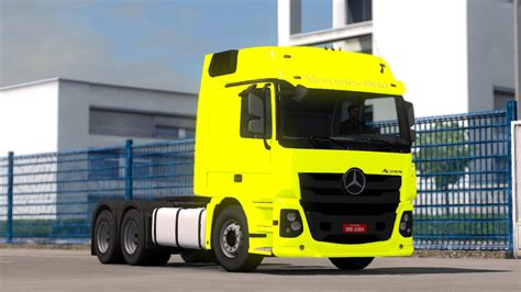New Truck Styles by New Mercedes Actros 2017 Brazil Style 1 28 Truck Mod