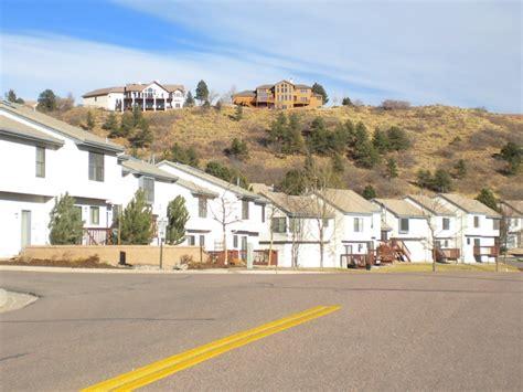 Apartments In Colorado Springs Near Rockrimmon Ptarmigan Valley Townhomes Rockrimmon Colorado Springs