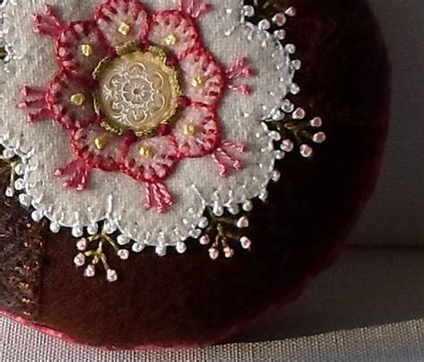 Handmade Pincushions - 17 best images about sewing kit on
