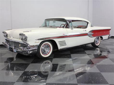 4 Car Garages white 1958 pontiac bonneville for sale mcg marketplace