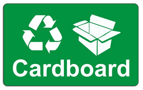 recycling cards earn gains from recycling cardboard waste