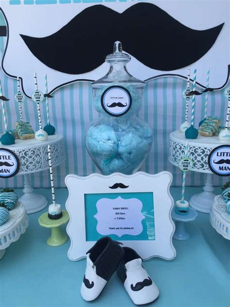 Mustache Themed Baby Shower Supplies by Mustache Baby Shower Baby Shower Ideas Photo 6 Of
