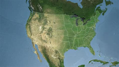 usa satellite map usa satellite map my