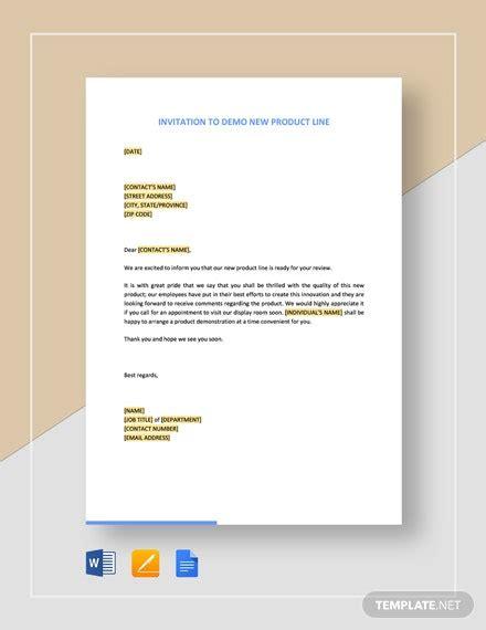 office seminar invitation letter template