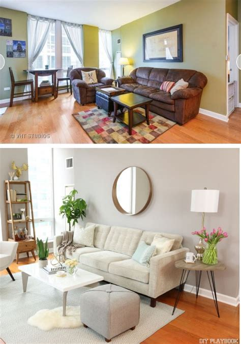 a makeover for a living room in this chicago condo neutral color palettes behr and behr paint