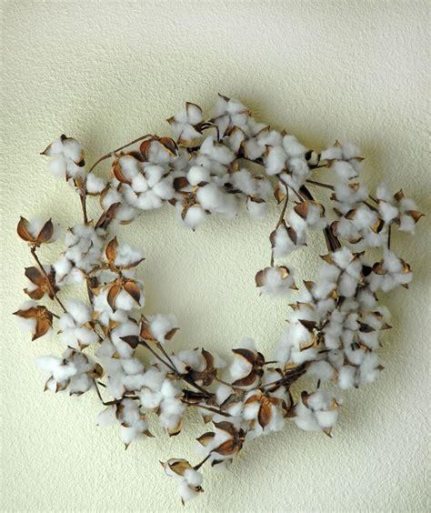 faux wreaths faux cotton wreath 22in
