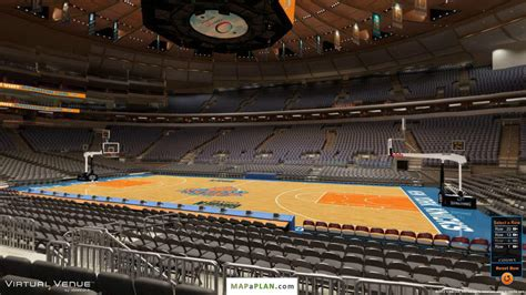 msg section 109 madison square garden seating chart detailed seat