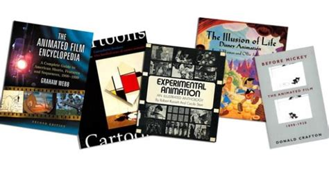 reference my books these are my seven desert island animation reference books