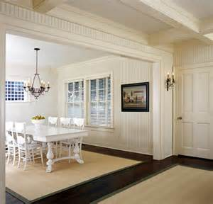 Pictures Of Dining Rooms With Chair Rails - b e interiors beadboard