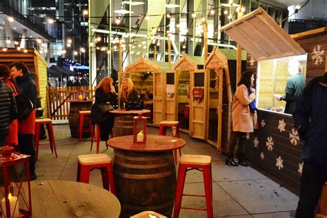 Bar Hutte Manchester 2016 by Bar Hutte Returns To Manchester Spinningfields