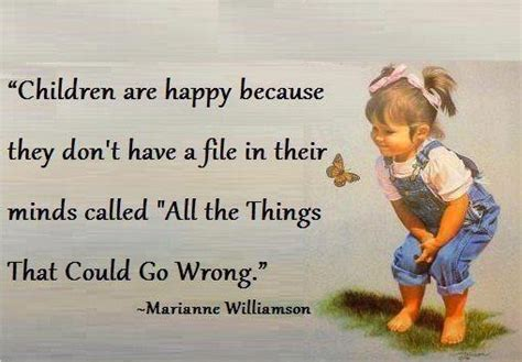 kid sayings thought for the day children are happy because